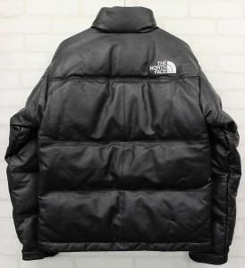 Supreme×The North Face Leather Nuptse Jacket シュプリーム ノースフェイス レザーヌプシダウンジャケット3