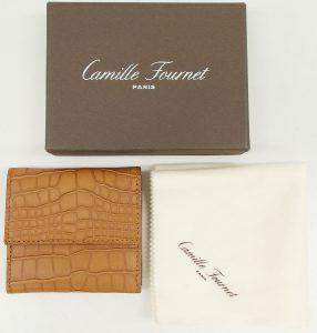 camille fournet(カミーユフォルネ) アリゲーターコインケース
