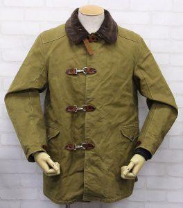 バーンストーマーズ ファイヤーチーフターンアウトコート BARNSTORMERS 1940s Fire Chief Turn Out Coat J13-01OD2